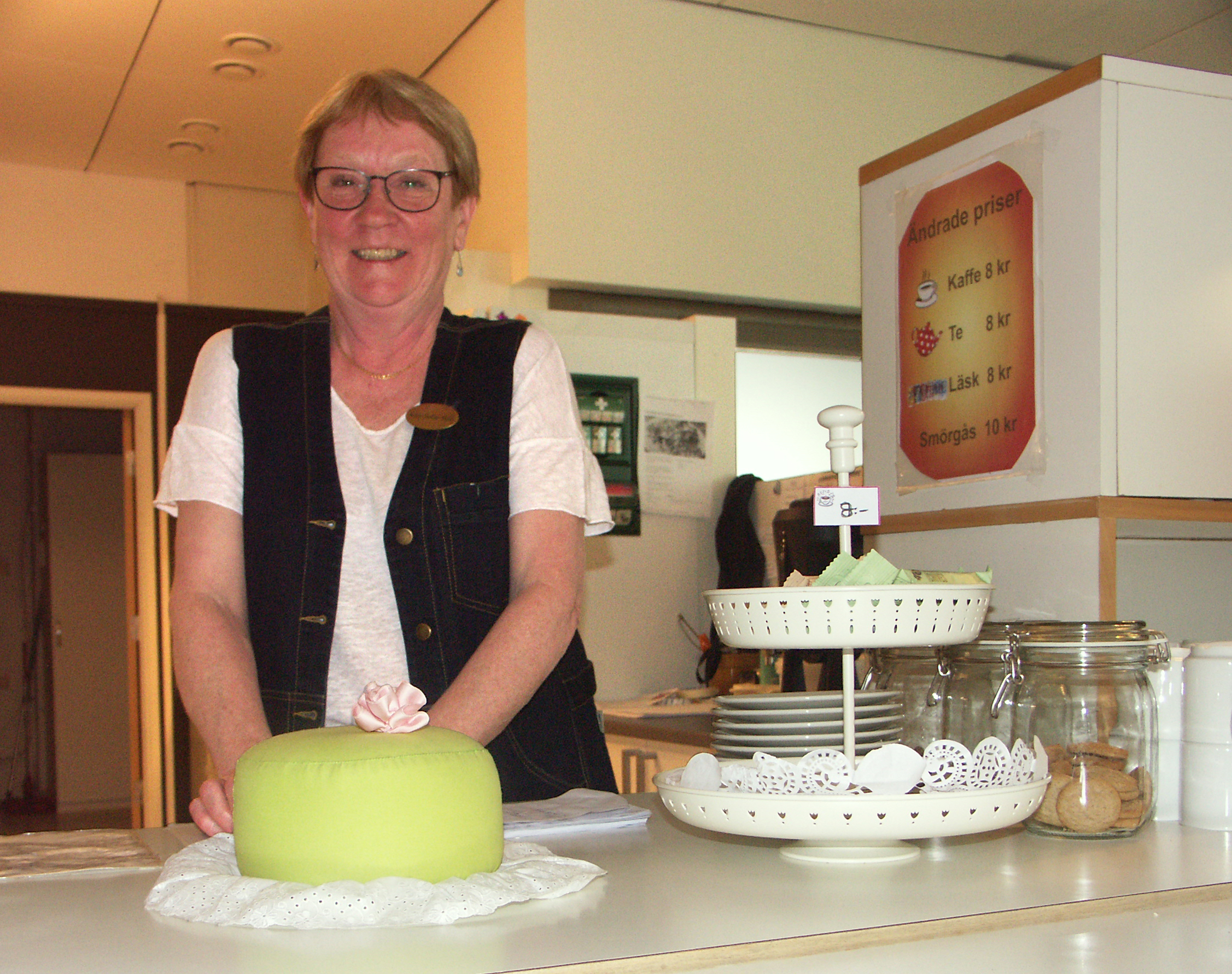 Ann-Sofie Hall jobbar på Tinget