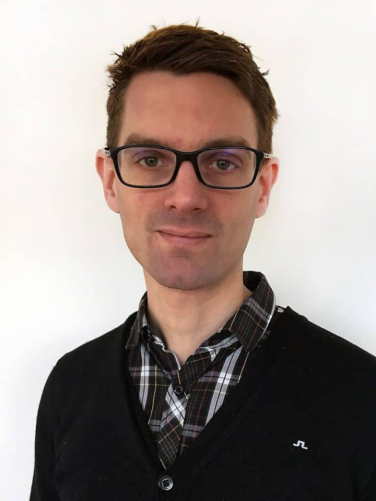 Erik Klingenberg, suicidpreventionssamordnare i Region Uppsala, som uppmärksammar internationella suicidpreventionsdagen. Foto: Privat