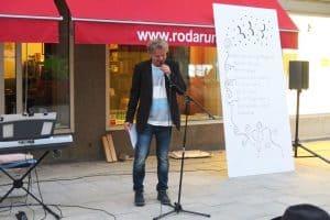 Poet Börje Larsson
