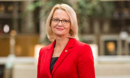 Heléne Fritzon, Kandidat #1 Socialdemokraterna