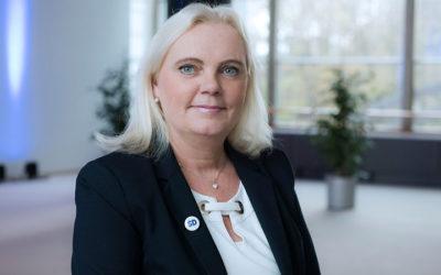 KANDIDERAR EJ LÄNGRE: Kristina Winberg