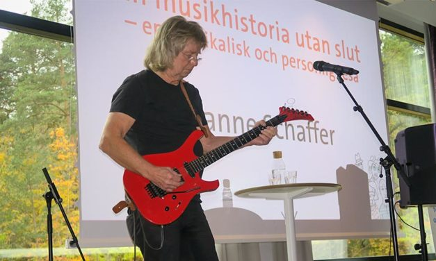 Janne Schaffer värnar om psykisk hälsa