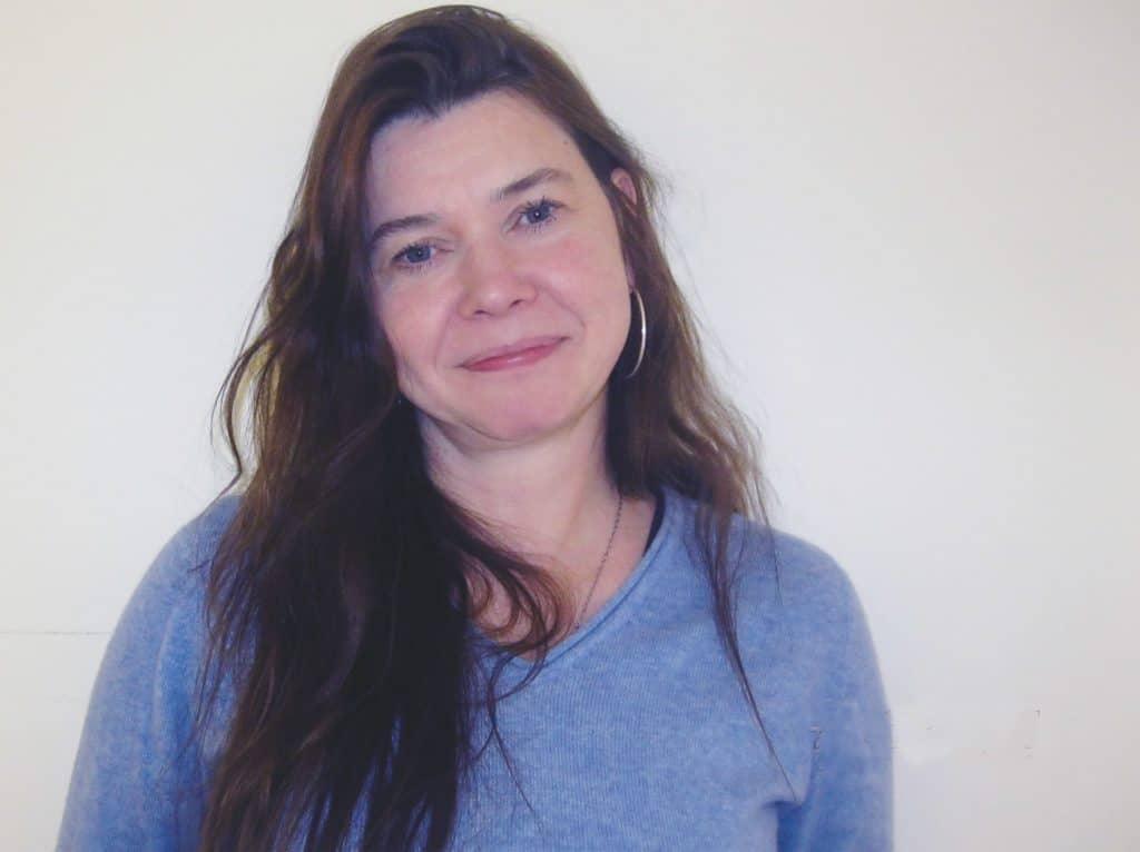 Porträtt av forskaren Maricel Knechtel