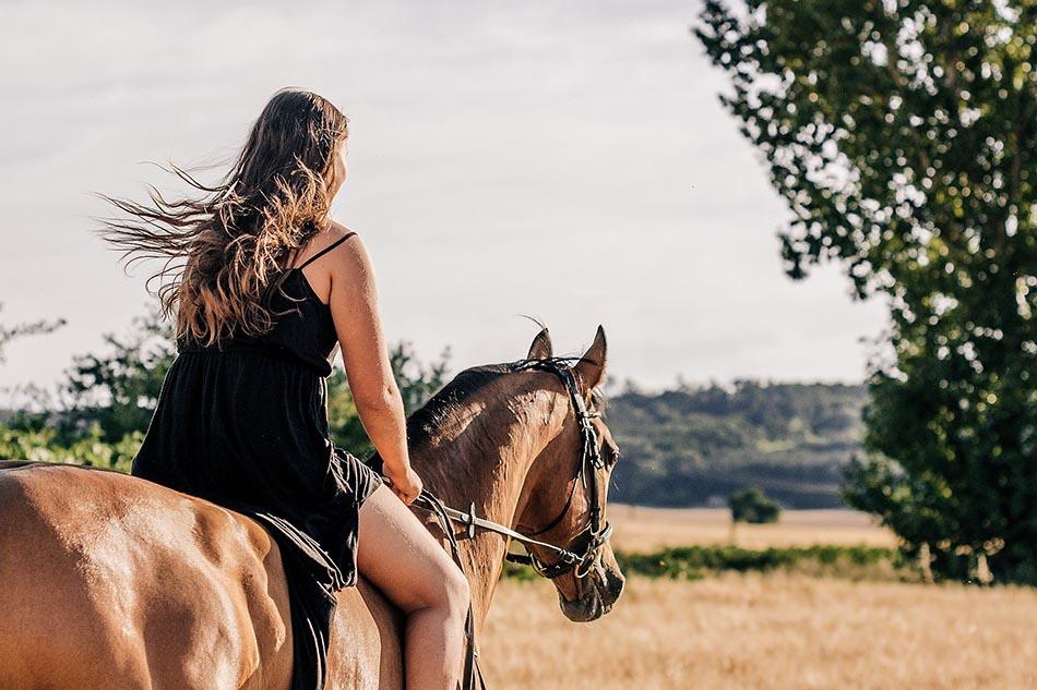 Landsbygdsatsningar med hästföretag <br/> gynnar den psykiska hälsan