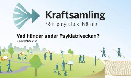 Psykiatriveckan i hela Sverige <br/> Upplev den live eller i efterhand!