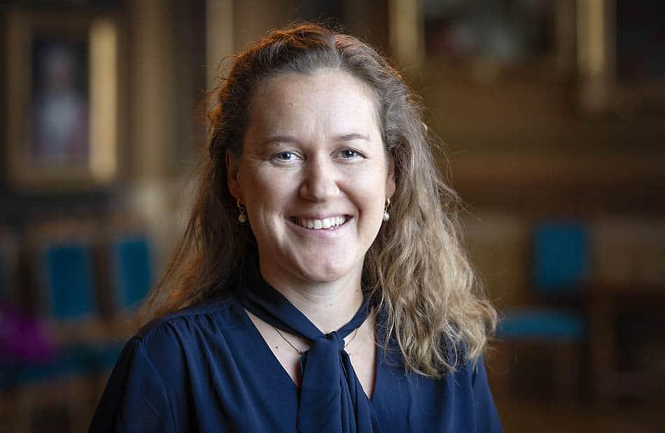 Porträtt av Tove Fall,  professor vid Institutionen för medicinska vetenskaper, Molekylär epidemiologi, Uppsala universitet