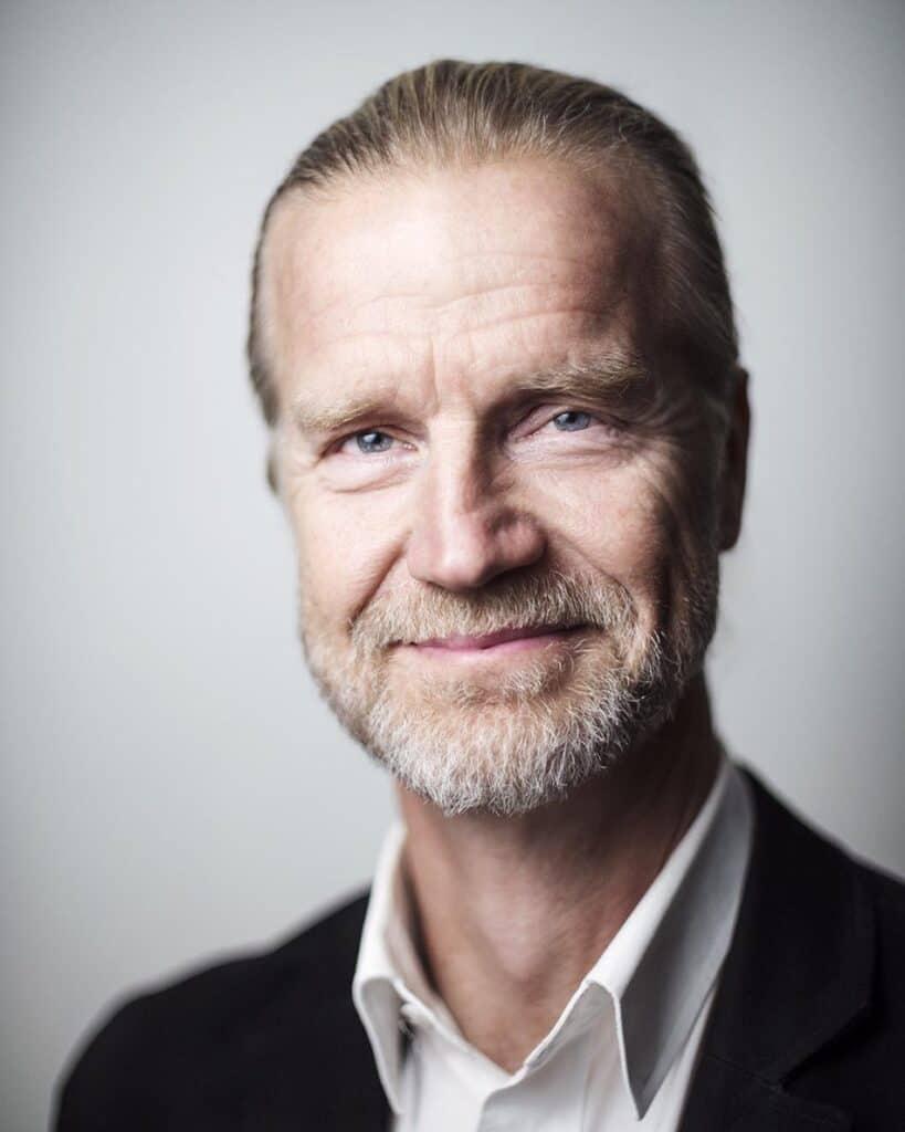 Porträtt av Klas Elm, VD för Svensk Cykling. Pressbild i samband med Cykelns dag.
